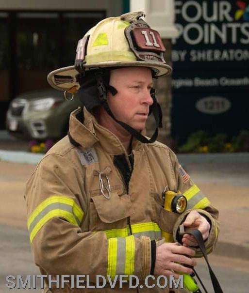 Firefighter/Engineer Billy Johnston